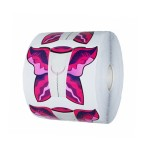 Sabloane Fluture Roz - bucati
