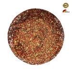 Gel UV Love Effect Classic Glitter Red Gold 5g